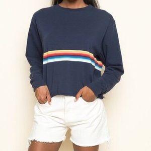 Brandy Melville rainbow long sleeve
